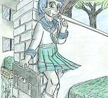 Schoolyard Greetings- plain by Virtualfruits
