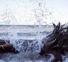 Lake Superior Splash by Jacob Ennis