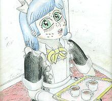 Friendly Shota Maid- plain by Virtualfruits