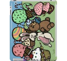 Teddy Bear And Bunny - Caught In The Act iPad Case/Skin