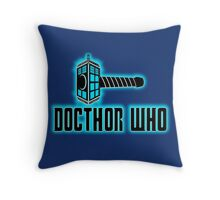 DOCTHOR WHO  Throw Pillow