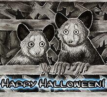 Happy Halloween Aye-Aye by jkartlife