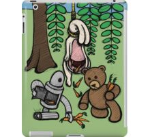 Teddy Bear And Bunny - Making The Most Of It iPad Case/Skin