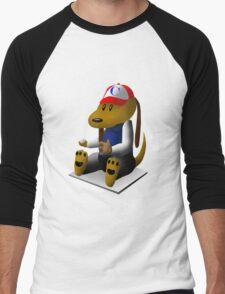 Baseball Dog Men's Baseball ¾ T-Shirt