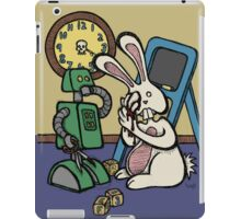 Teddy Bear And Bunny - It's All Fun And Games iPad Case/Skin