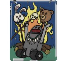 Teddy Bear And Bunny - Gone Native iPad Case/Skin