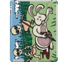 Teddy Bear And Bunny - Baby Doll Robot Killers iPad Case/Skin