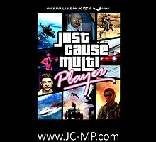 Just Cause Multiplayer GTA Poster by dab88