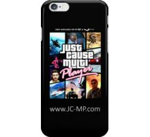 Just Cause Multiplayer GTA Poster iPhone Case/Skin