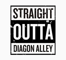 Straight Outta Diagon Alley - Black Words Unisex T-Shirt