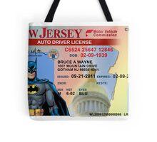 Batman Driver's License Tote Bag
