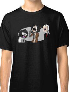 Creepypasta Funny Faces Classic T-Shirt