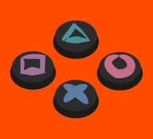 PlayStation Buttons by ChrisButler