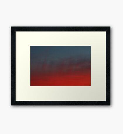 hollywood sunset - 2 Framed Print