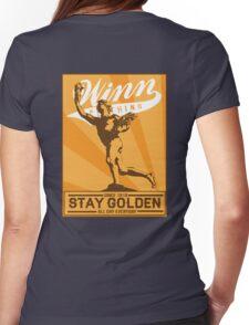 Golden Boy Womens Fitted T-Shirt