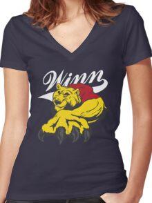 Winnie. Women's Fitted V-Neck T-Shirt