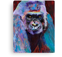 Never Date A Gorilla With A Nice Smile Canvas Print