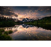 Picture Lake Awakening Photographic Print
