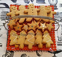 Christmas gingerbread by Sally Kate Yeoman