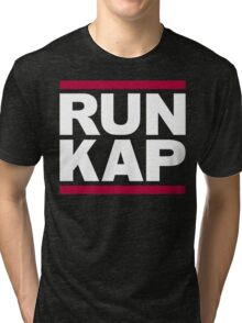 "San Francisco 49ers ""RUN KAP"" Design!  Tri-blend T-Shirt"