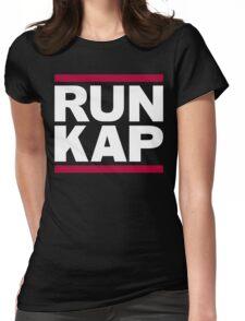 """San Francisco 49ers """"RUN KAP"""" Design!  Womens Fitted T-Shirt"""