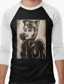 CATWOMAN T-SHIRTS AND STICKERS Men's Baseball ¾ T-Shirt
