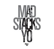 Mad Stacks Yo Photographic Print