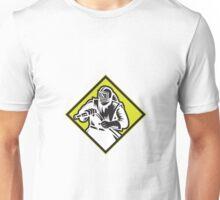 Sandblaster Sandblasting Diamond Retro Unisex T-Shirt
