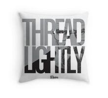Thread Lightly Throw Pillow