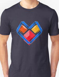 Love Cubes Blue T-Shirt