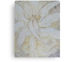 tall angel Canvas Print