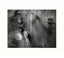 medicine crow Art Print