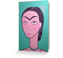 Frida, Darling. Greeting Card