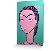 Frida, Darling. Greeting Card