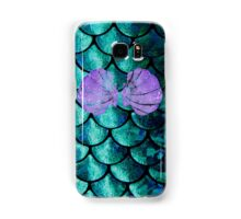 Mermaid Scales & Shell Bra Samsung Galaxy Case/Skin