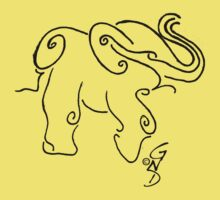 Elephant by GingerNutDesign