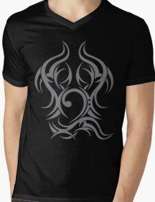 Tribal Bass Cleff Mens V-Neck T-Shirt