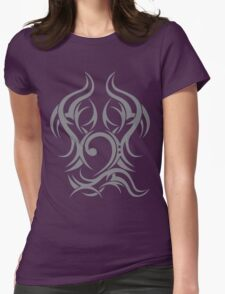 Tribal Bass Cleff Womens Fitted T-Shirt