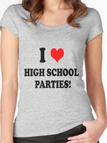 High School Parties Women's Fitted Scoop T-Shirt