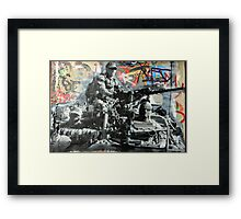 Street Art: global edition # 93 Framed Print