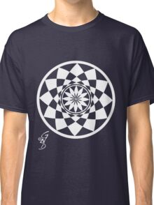 Geometric Flower invert Classic T-Shirt