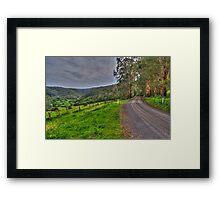 Barramunga Landscape Framed Print