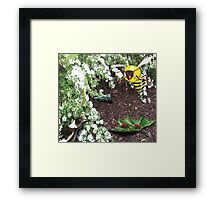 Who Really Lives at the Kindergarten Framed Print