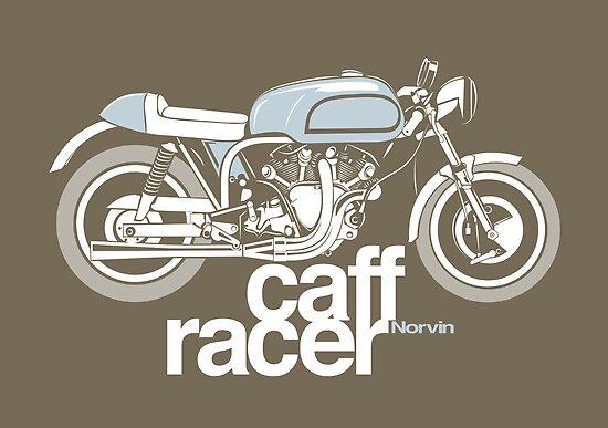 Norvin Caff Racer by velocitygallery