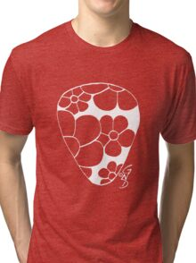 Plectrum 2 inverted see through Tri-blend T-Shirt