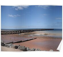 Ardrossan jetty,SA Poster