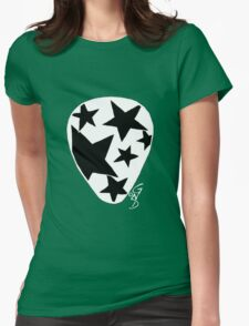 Plectrum 1 inverted Womens Fitted T-Shirt