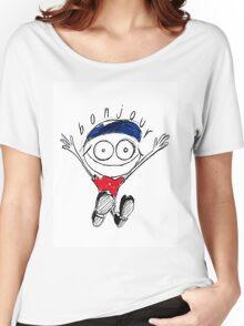 Bonjour! Women's Relaxed Fit T-Shirt