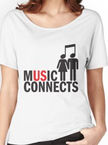 Music Connects Women's Relaxed Fit T-Shirt