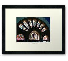 Some grand glass work Framed Print
